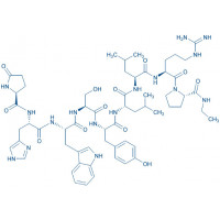 (Des-Gly¹⁰,Leu⁶,Pro-NHEt⁹)-LHRH trifluoroacetate salt Pyr-His-Trp-Ser-Tyr-Leu-Leu-Arg-Pro-NHEt trifluoroacetate salt
