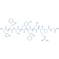 (D-Trp)-LHRH (2-10) trifluoroacetate salt H-His-Trp-Ser-Tyr-D-Trp-Leu-Arg-Pro-Gly-NH trifluoroacetate salt