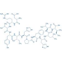 Angiotensin (1-12) (human) trifluoroacetate salt H-Asp-Arg-Val-Tyr-Ile-His-Pro-Phe-His-Leu-Val-Ile-OH trifluoroacetate salt