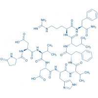 Leucomyosuppressin Pyr-Asp-Val-Asp-His-Val-Phe-Leu-Arg-Phe-NH₂