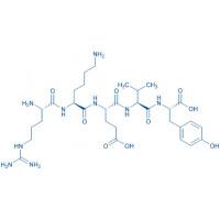 Splenopentin acetate salt H-Arg-Lys-Glu-Val-Tyr-OH acetate salt