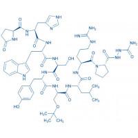 (D-Ser(tBu)⁶,Azagly¹⁰)-LHRH (free base) Pyr-His-Trp-Ser-Tyr-D-Ser(tBu)-Leu-Arg-Pro-Azagly-NH₂