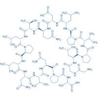 SPLUNC1 (22-39) trifluoroacetate salt H-Gly-Gly-Leu-Pro-Val-Pro-Leu-Asp-Gln-Thr-Leu-Pro-Leu-Asn-Val-Asn-Pro-Ala-OH trifluoroacetate salt