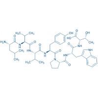Spinorphin (bovine) trifluoroacetate salt H-Leu-Val-Val-Tyr-Pro-Trp-Thr-OH trifluoroacetate salt