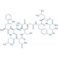 Galanin (2-11) amide trifluoroacetate salt H-Trp-Thr-Leu-Asn-Ser-Ala-Gly-Tyr-Leu-Leu-NH trifluoroacetate salt