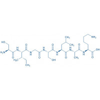 H-Ser-Ile-Gly-Ser-Leu-Ala-Lys-OH trifluoroacetate salt