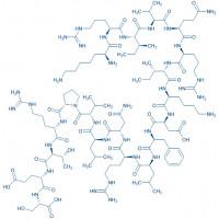 LL-37 KRI trifluoroacetate salt H-Lys-Arg-Ile-Val-Gln-Arg-Ile-Lys-Asp-Phe-Leu-Arg-Asn-Leu-Val-Pro-Arg-Thr-Glu-Ser-OH trifluoroacetate salt