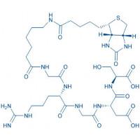 Biotinyl-Ahx-Gly-Arg-Gly-Asp-Ser-OH trifluoroacetate salt