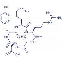 Cyclo(-Arg-Gly-Asp-D-Tyr--azido-Nle) trifluoroacetate salt