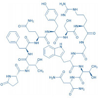Corazonin Pyr-Thr-Phe-Gln-Tyr-Ser-Arg-Gly-Trp-Thr-Asn-NH₂
