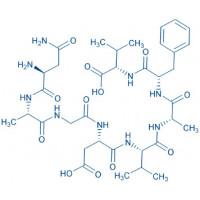 Lactoferrin (322-329) (human) trifluoroacetate salt H-Asn-Ala-Gly-Asp-Val-Ala-Phe-Val-OH trifluoroacetate salt