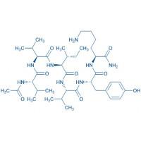 Acetyl-PHF6QV amide trifluoroacetate salt Ac-Val-Val-Ile-Val-Tyr-Lys-NH trifluoroacetate salt