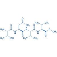Eglin c (60-63)-methyl ester acetate salt H-Thr-Asn-Val-Val-OMe acetate salt