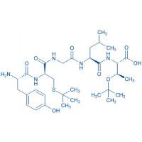 (D-Cys(tBu),Thr(tBu))-Leu-Enkephalin-Thr H-Tyr-D-Cys(tBu)-Gly-Phe-Leu-Thr(tBu)-OH