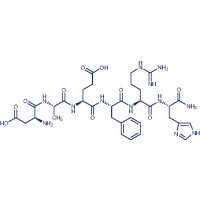 Amyloid -Protein (1-6) amide trifluoroacetate salt H-Asp-Ala-Glu-Phe-Arg-His-NH trifluoroacetate salt