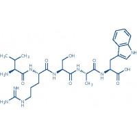 Osteostatin (1-5) (human, bovine, dog, horse, mouse, rabbit, rat) trifluoroacetate salt H-Thr-Arg-Ser-Ala-Trp-OH trifluoroacetate salt
