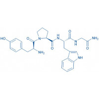 (Tyr⁰,Trp²)-Melanocyte-Stimulating Hormone-Release Inhibiting Factor trifluoroacetate salt H-Tyr-Pro-Trp-Gly-NH₂ trifluoroacetate salt