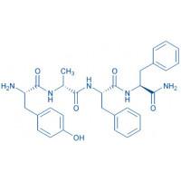 (Phe⁴)-Dermorphin (1-4) amide H-Tyr-D-Ala-Phe-Phe-NH₂
