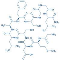 Buccalin trifluoroacetate salt H-Gly-Met-Asp-Ser-Leu-Ala-Phe-Ser-Gly-Gly-Leu-NH trifluoroacetate salt