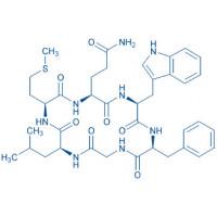 Cyclo(-Gln-Trp-Phe-Gly-Leu-Met)