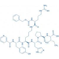 Angiotensin II Receptor Ligand Nicotinoyl-Tyr-Lys(Z-Arg)-His-Pro-Ile-OH