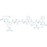 Lys-(Ala)-Bradykinin acetate salt H-Lys-Arg-Pro-Ala-Gly-Phe-Ser-Pro-Phe-Arg-OH acetate salt