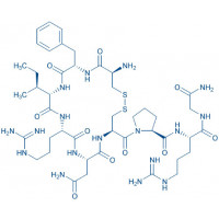 (Arg⁸)-Conopressin G trifluoroacetate salt H-Cys-Phe-Ile-Arg-Asn-Cys-Pro-Arg-Gly-NH₂ trifluoroacetate salt(Disulfide bond)