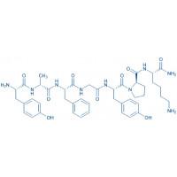 (Lys)-Dermorphin acetate salt H-Tyr-D-Ala-Phe-Gly-Tyr-Pro-Lys-NH acetate salt