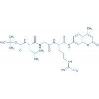 Boc-Leu-Gly-Arg-AMC acetate salt