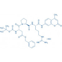 Boc-Asp(OBzl)-Pro-Arg-AMC · HCl