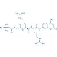 Boc-Gly-Arg-Arg-AMC acetate salt