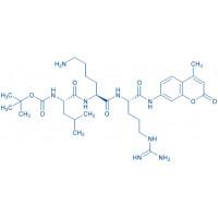 Boc-Leu-Lys-Arg-AMC hydrochloride salt