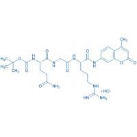 Boc-Gln-Gly-Arg-AMC HCl