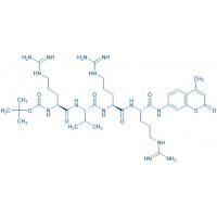 Boc-Arg-Val-Arg-Arg-AMC acetate salt