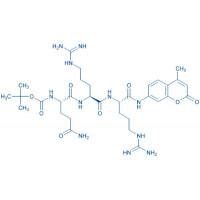 Boc-Gln-Arg-Arg-AMC acetate salt
