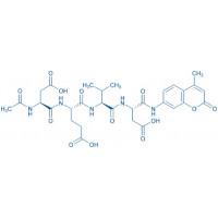 Ac-Asp-Glu-Val-Asp-AMC ammonium salt