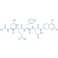 Ac-Leu-Glu-His-Asp-AFC trifluoroacetate salt