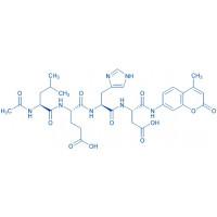 Ac-Leu-Glu-His-Asp-AMC trifluoroacetate salt