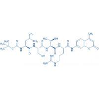 Boc-Leu-Ser-Thr-Arg-AMC trifluoroacetate salt