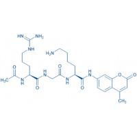 Ac-Arg-Gly-Lys-AMC trifluoroacetate salt