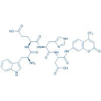 Ac-Trp-Glu-His-Asp-AFC trifluoroacetate salt