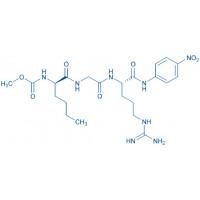 Methoxycarbonyl-D-Nle-Gly-Arg-pNA acetate salt
