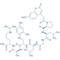 Mca-Pro-Leu-Gly-Leu-Dap(Dnp)-Ala-Arg-NH trifluoroacetate salt