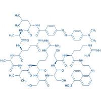 DABCYL-TNF-α-EDANS (-4 to +6) (human) trifluoroacetate salt DABCYL-Leu-Ala-Gln-Ala-Val-Arg-Ser-Ser-Ser-Arg-EDANS trifluoroacetate salt