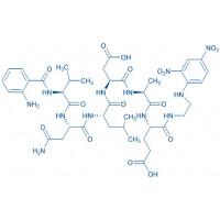 Abz-(Asn⁶⁷⁰,Leu⁶⁷¹)-Amyloid β/A4 Protein Precursor₇₇₀ (669-674)-EDDnp trifluoroacetate salt Abz-Val-Asn-Leu-Asp-Ala-Glu-EDDnp trifluoroacetate salt