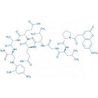 Mca-Pro-Leu-Gly-Leu-Glu-Glu-Ala-Dap(Dnp)-NH trifluoroacetate salt