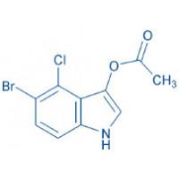 5-Bromo-4-chloro-1H-indol-3-yl acetate