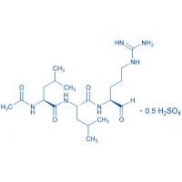 Leupeptin Ac-Leu-Leu-Arg-aldehyde · sulfate salt