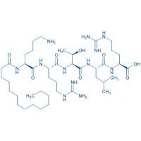 Myristoyl-Lys-Arg-Thr-Leu-Arg-OH