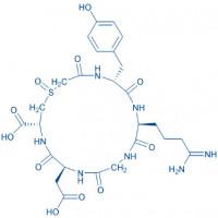 Cyclo(-D-Tyr-Arg-Gly-Asp-Cys(carboxymethyl)-OH) sulfoxide